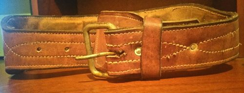 Cinturon De Cuero Para Levantamiento De Pesas