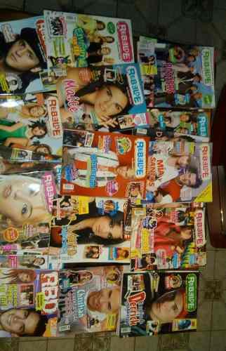 Colección De Revistas Del Grupo Rbd