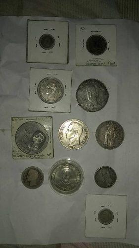 Coleccion De Modenas De Plata De Venezuela