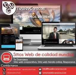 Diseño de paginas web en venezuela con tuwebcaracas