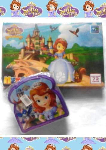 Disney Princesa Sofia Combo Sanduchera + Juego De Memoria
