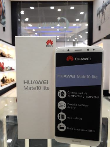 Huawei Mate 10 Lite 64gb 4gb Ram Tienda Fisica Los Aviadores