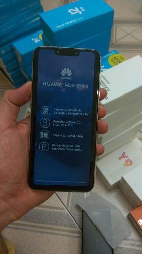 Huawei Mate 20 Lite 64gb+4gb Nuevo Y Liberados Tienda Fisica