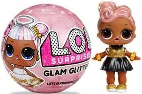 Lol Surprise Glam Glitter Y Surpresa Confeti Pop