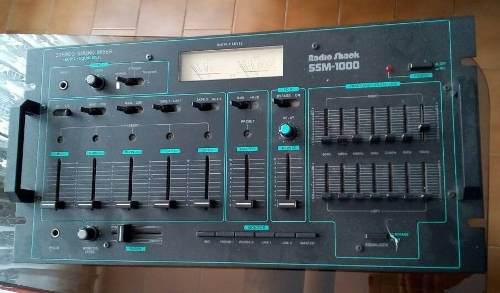 Mezclador De Audio Radio Shack Ssm-1000