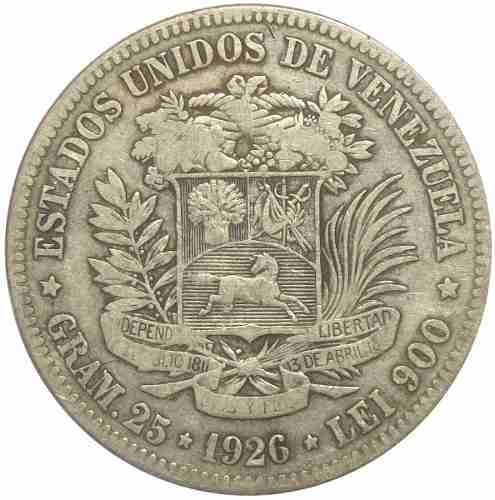 Moneda 5 Bolívares, Fuerte De  - Fecha Normal F/ Vf-