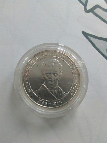 Moneda Conmemorativa Bicentenario Jose Maria Vargas.