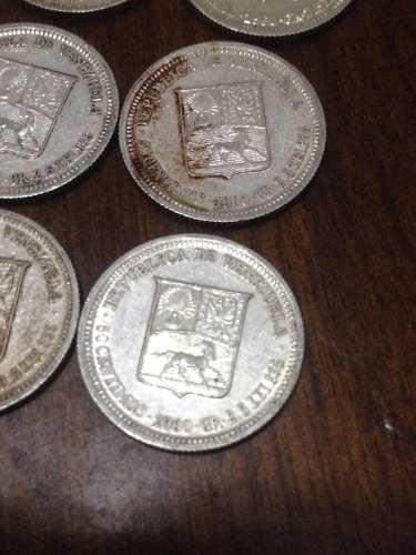 Moneda De Plata Ley De 0,50 Céntimos De