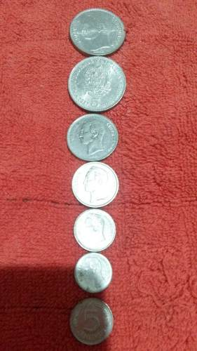 Monedas De Niquel Se Vende Por Lotes, Diferentes Años.