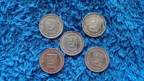 Monedas De Plata  Centimos