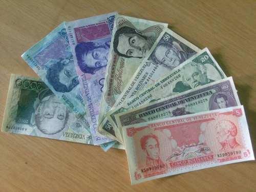 Monedas Y Billetes De Venezuela Antiguos