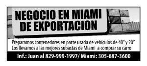 Negocios de exportacion desde miami