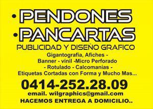 Pendones y Pancartas en Caracas / Publicidad y Diseño