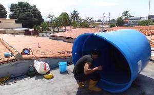 Reparación instalación de tanques bombas calentadores de