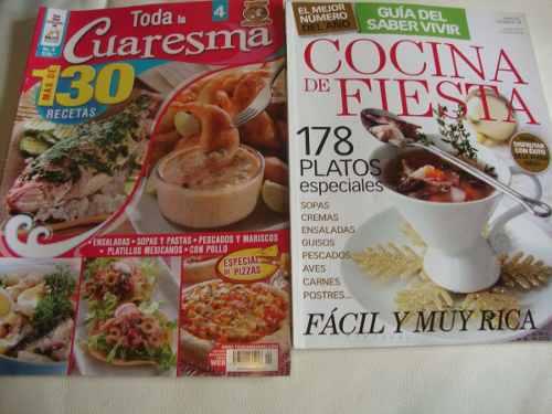 Revistas De Recetas Especiales De Cocina