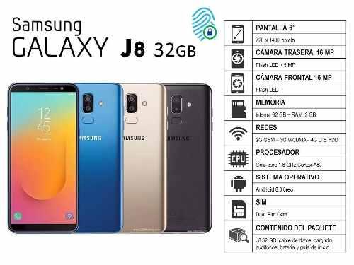 Samsung Galaxy J8 32gb - Somos Tienda