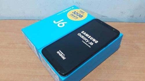 Samsung J6 De 32gb Dual Sim 2gb Ram + Sim Card 32 Gm