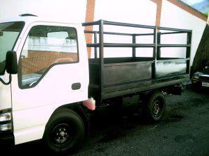 Servicio viajes y mudanzas con camion tipo baranda y pick