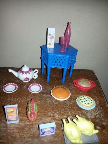 Set De Accesorios Originales De Barbie