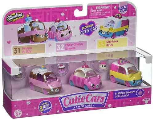 Shopkins Cutie Car Season 1 Bumper Bakery 3 Pack