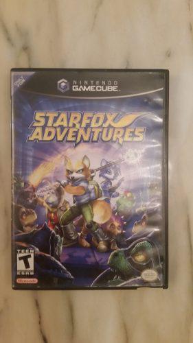 Starfox Adventures Juego De Nintendo Gamecube