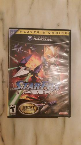 Starfox Assault Juego De Nintendo Game Cube