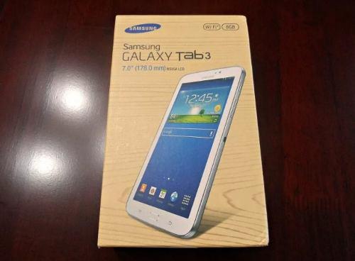 Tablets Samsung Galaxy Tab 3 Con Caja Y Accesorios Oferta