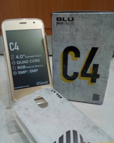 Telefono Celular Android Blu C4 Dual Sim Android 8.1 8gb
