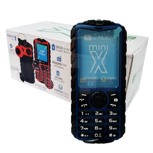 Teléfono Celular Dual Sim Smooth Snap Mini X Color Azul Tt