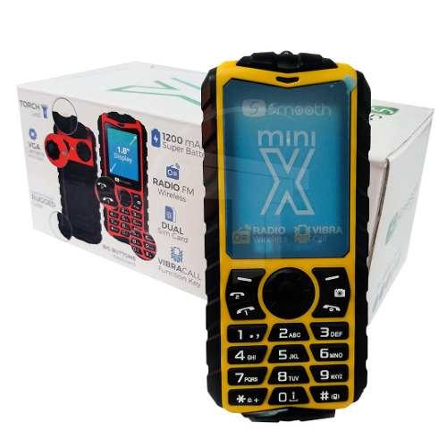 Teléfono Celular Dual Sim Smooth Snap Mini X Color Yellow