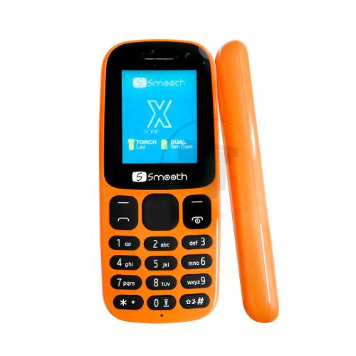Teléfono Celular Dual Sim Smooth Snap X Color Naranja Tt