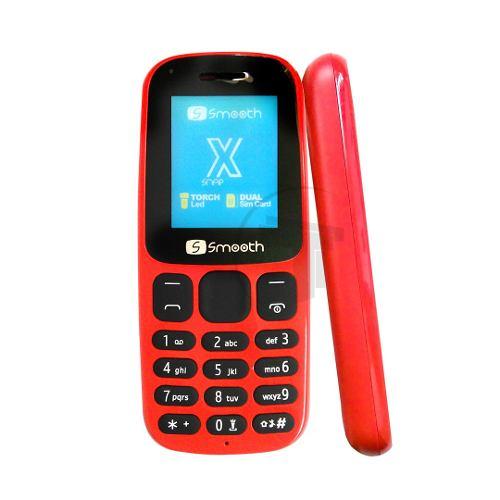 Teléfono Celular Dual Sim Smooth Snap X Color Rojo Tt