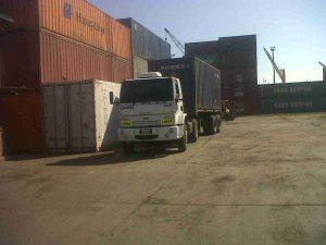Transportadores iron, transporte de carga de contenedores de