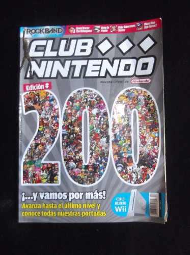Vendo Revista Club Nintendo Edicion Especial No 200