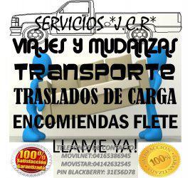 Viajes Y Mudanzas transporte carga Encomiendas Envios Flete