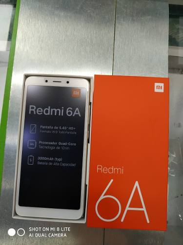 Xiaomi Redmi 6a 16gb+2gb Nuevo Liberados Somos Tienda Fisica