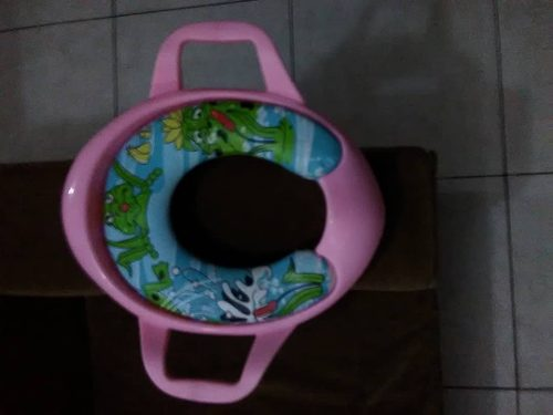 Asiento Reductor De Poceta Para Niñas Rosa