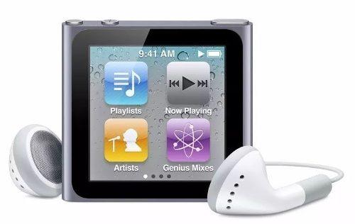 Ipod Nano 6ta Generacion Original En Su Caja Como Nuevo