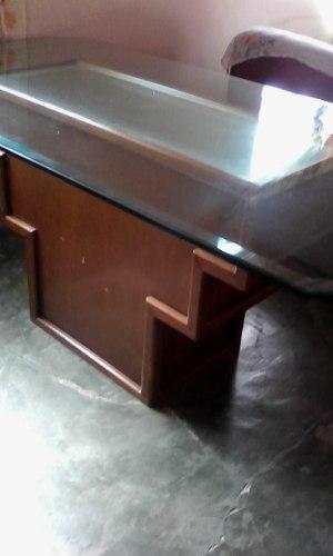 Mesa De Comedor 6 Puestos Vidrio