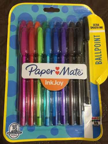 Paper Mate Inkjoy 100st Bolígrafos, Punta Mediana (1.0 Mm)