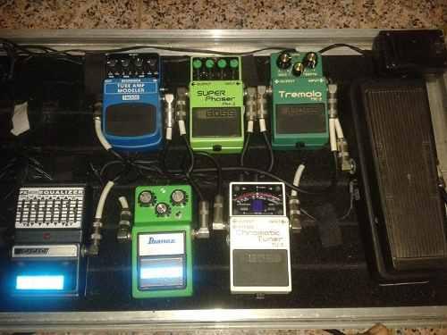 Pedales De Guitarra Boss, Ibanez, Dunlop, Dod
