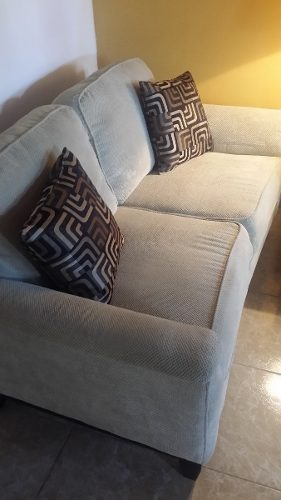 Sofa En Tela De 2 Puestos