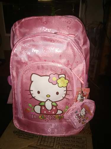 Bolso Grande De Hello Kitty