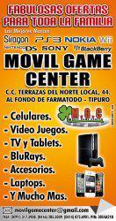 Celulares, video juegos, tv, bluray, tablet, laptop,