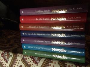 Colección libros de narnia
