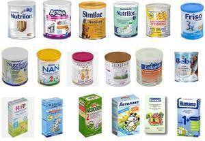 Leche para bebés NAN NIDO SMA NUTRILON S26 GOLD y otros por