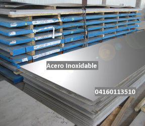 Metallenox 04160113510 Acero Inoxidable Laminas Pletinas