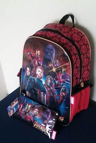 Morral Cartuchera Avengers Infinity War. Original Marvel.