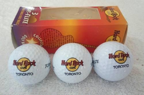 Pelotas De Golf De Colección Hard Rock Cafe