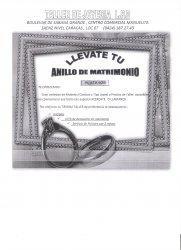 Taller de joyeria anillos de matrimonio y graduacion